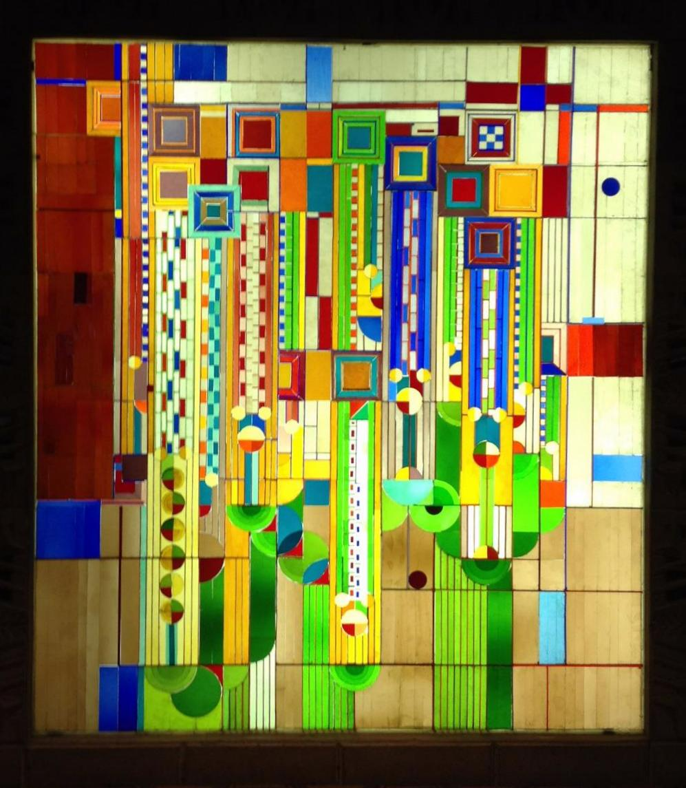 Phoenix Biltmore Frank Lloyd Wright Stained Glass Awi